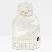 Bonnet mixte Ski Tuke V White Camo The North Face