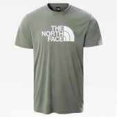 T-shirt respirant homme Reaxion Easy Tee Agave green The North Face
