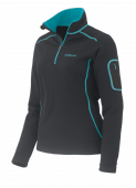 Sweat femme Elima Negro Polartec® Power Stretch® PC007394 Trangoworld