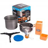 Furno Stove and Pot set pack réchaud Furno + set casserole 360° degrees