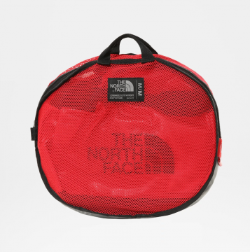sac base camp duffel bag taille S red Black the north face - Copie