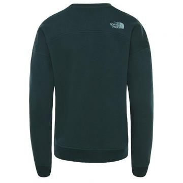 Sweat femme col rond Drew Peak Crew ponderosa green The North Face
