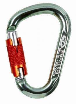 Mousqueton Snappy Green Twist Lock Climbing Technology