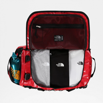 sac base camp duffel bag taille S red Black the north face 3 - Copie