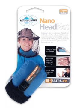 Moustiquaire de tête ultralégère Nano HeadNet Sea to Summit