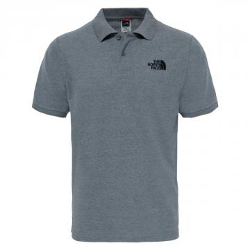 Polo homme Piquet Heather Grey The North Face