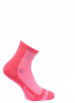 Chaussette rando Trek Trail Jr pop pink