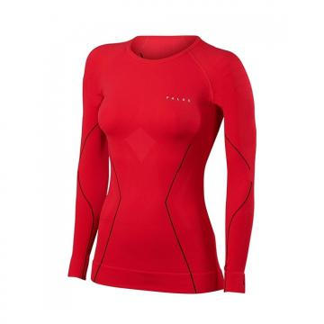 T-shirt ML Skiing Athl W rouge